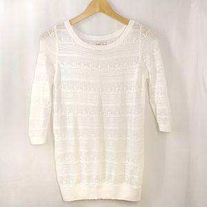Old Navy Crochet Light Weight Sweater